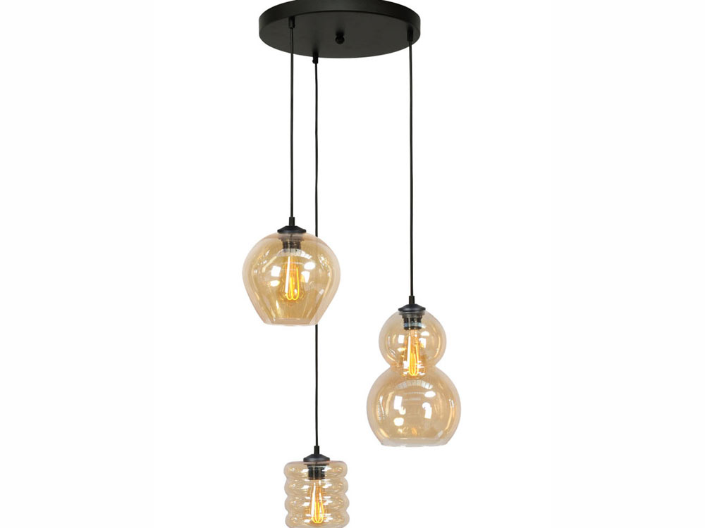 Hanglamp Quinto 3 lamps