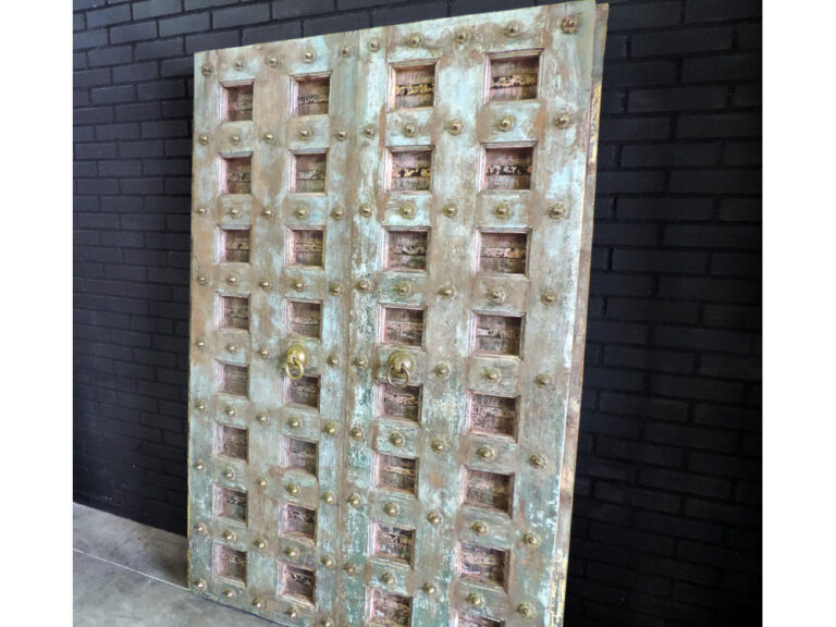 India houten deur Palla